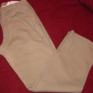 Dickies Pants - Slim Fit Women's Khaki Dickies Size 17